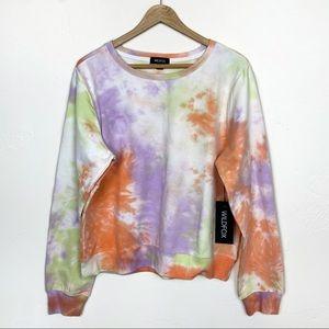 Wildfox | NWT Sherbet Tie Dye Crewneck Sweatshirt